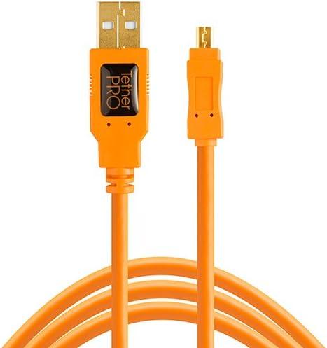 USB2.0-Kabel USB-A-Stecker auf Mini-USB-Stecker 8-Pin Nikon 1,8m