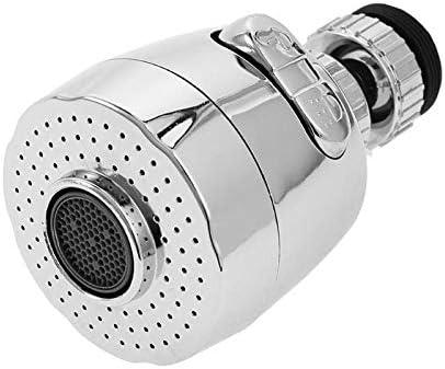 RLYBDL 360回転式ベント節水タップエアレーターディフューザー蛇口ノズルフィルター水スイベルヘッドキッチン蛇口アダプタバブラー