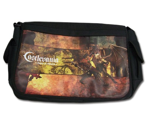 Castlevania Lords of Shadow Black Messenger Bag Adult Size