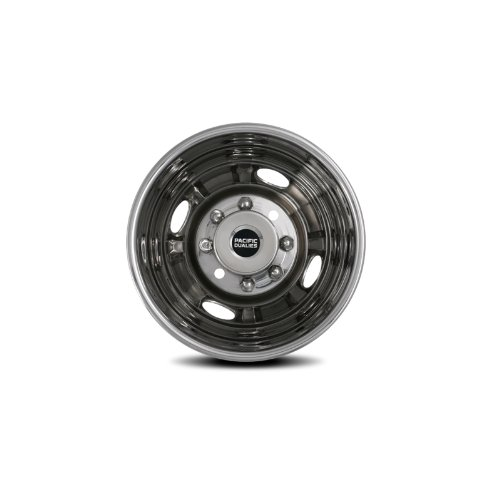 Pacific Dualies 31-3608 16'' Polished Stainless Steel Wheel Simulator Rear Tag Axle Kit for Ford 1999-2002 F350 Truck RV Motorhome