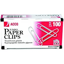 ACCO Brands Jumbo Paper Clip (A7072580G)