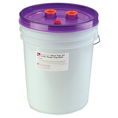 Practicon 7078723 Gleco Trap HV Kit, 5 gal