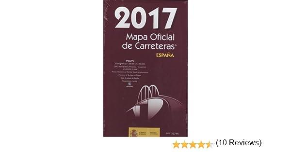 Mapa oficial de Carreteras de España 2017. Incluye CD. Ministerio de Fomento de España.: Amazon.es: Secretaría General Técnica, Centro de Publicaciones, Ministerio de Fomento, Centro de Publicaciones, Ministerio de Fomento, Secretaría General