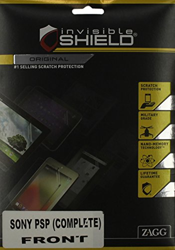 InvisibleShield for Sony PSP-Top - Psp Slim Invisibleshield