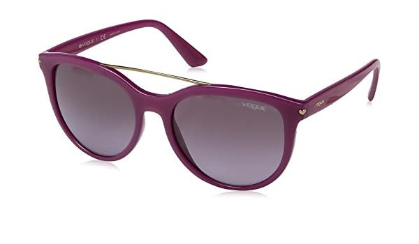 Vogue 0Vo5134S Gafas de sol, Opal Violet, 55 para Mujer