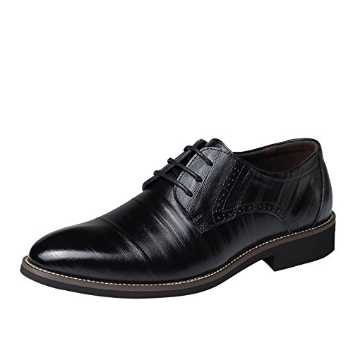 ⚡HebeTop ⚡Men's Raharto Plain Oxford Black