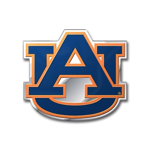 NCAA Auburn Tigers Die Cut Color Automobile - Auburn Outlet