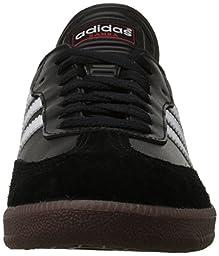 adidas Men\'s Samba Classic Soccer Shoe,Black/Running White,6.5 M US