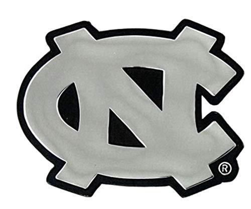 WinCraft NCAA North Carolina UNC Tar Heels Premium Auto Emblem, Chrome Metal