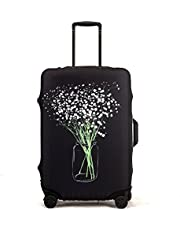 Madfifennina Washable Spandex Travel Luggage Protector Baggage Suitcase Cover Fit 23-32 Inch