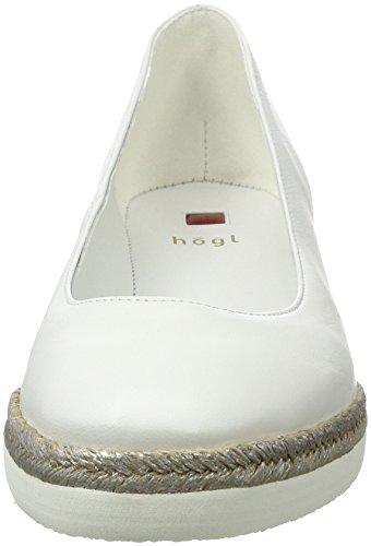Högl 3-10 4410 0200, Zapatos de Tacón para Mujer Blanco (weiss0200)