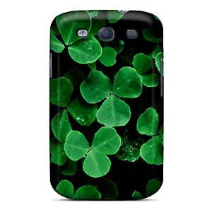 Henrydwd WzPsTul1301tcOuD Case Cover Galaxy S3 Protective Case Green Clover