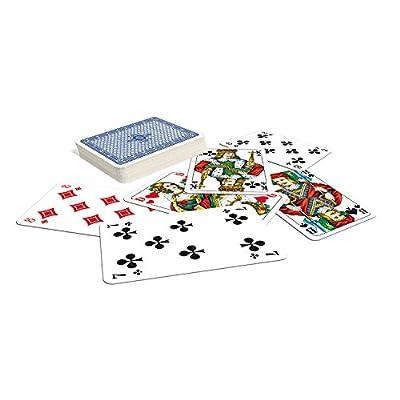 Philos Ass Altenburger Spielkarten NB-335001-0049 - Skat, französisches Bild, Plastiketui 70001: Toys & Games