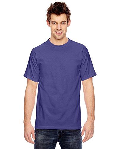 Comfort Colors Ringspun Cotton Garment-Dyed T-Shirt, GRAPE, X-Large