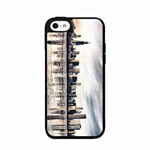 Chicago City View Plastic Fashion Phone Case Back For Apple Iphone 5C Case Cover