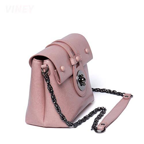 pour Sacs bandoulière Main à Selle Concepteur Main 22x10x17cm 9x4x7inch Sacs Brun Femmes Petite Rose Sacs à épaule xId88q