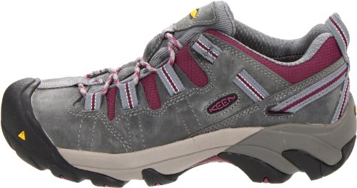 Pictures of KEEN Utility Women's Detroit Low Steel Monument/Amaranth 4