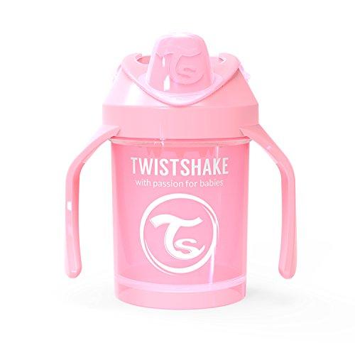 Twistshake Mini Cup 230ml/8oz 4+m Pastel Pink