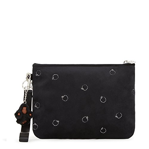 Kipling Disney Snow White Collection Sweetie Velvet Wristlet, Black