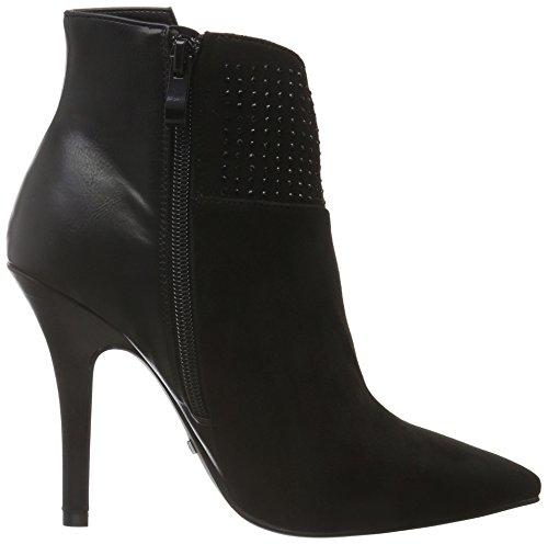 BUFFALO B334e-43a S0002a P1735a Sue Pu, Zapatillas de Estar por Casa para Mujer Negro - negro (negro 01)