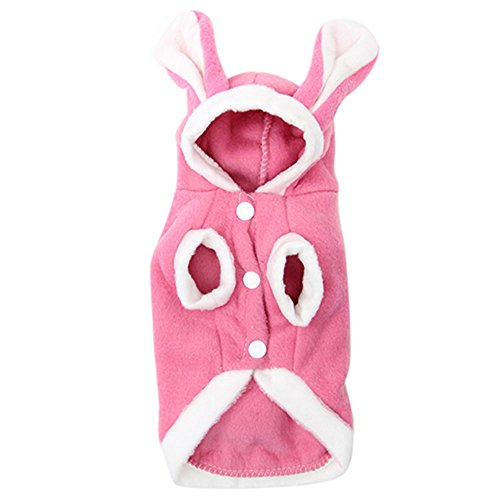 Shuohu Cute Dog Cat Pet Bunny Warm Clothes Autumn Winter Puppy Costumes Apparel (Costumes For Puppies)
