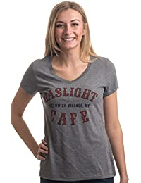 Gaslight Cafe Greenwich Village, NY   New York City NYC Folk Poet Venue T-Shirt