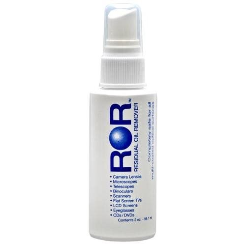 ROR Optical Lens Cleaner Spray Bottle VV-ROR2 (2 oz - Pack of 3) by ROR