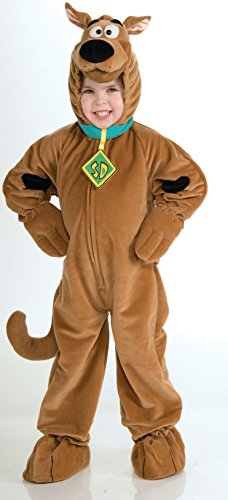 Scooby - Doo Child's Deluxe Scooby Costume, -