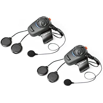 Sena SMH5D 02 Low Profile Motorcycle And Scooter Bluetooth Headset Intercom For Full