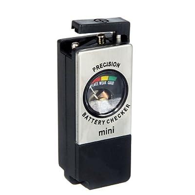 Kingzer Mini Universal Battery Tester Checker AA AAA C D 9V Button Checker BT-850