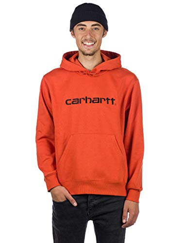 Carhartt Orange Carhartt Black Hoody Black Hoody Orange Carhartt Sweat Sweat Sweat Hoody Rx7qP7d