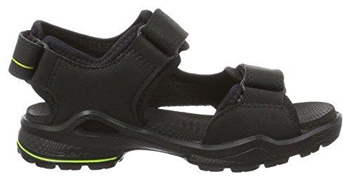 ECCO Biom Sandal, Zapatillas de Deporte Exterior para Niños Negro (51052black/black)