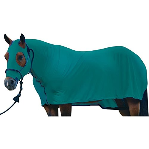 [해외]말을위한 천박한 잠옷 LYCRA 전신 말 커버 L 검정/Sleazy Sleepwear For Horses LYCRA Full Body Horse Cover L Black