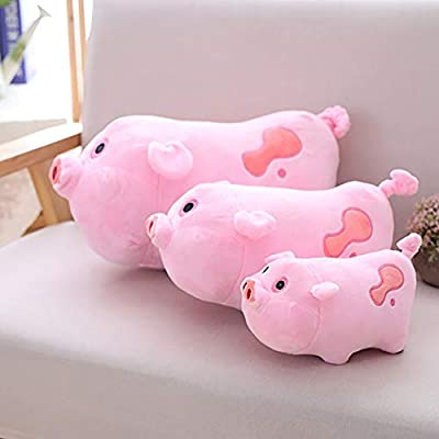 Maserfaliw Pig Plush Toy 20/30/40cm Simulated Cartoon Pig Plush Toy Soft Waddle Stuffed Animal Pillow - Pink 30cm ,A Fun, Popular Gift That Can Be Used at Home.: Toys & Games