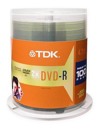 TDK48520 - TDK DVD-R Discs