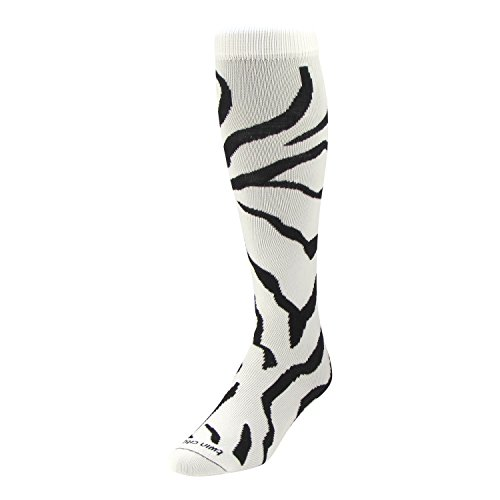 TCK Krazisox Zebra Stripe Socks product image