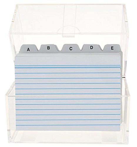 Stylex Schreibwaren, Schedario formato A6, incl. 100 schedine e appendici per ordine alfabetico Stylex Schreibwaren GmbH 49972