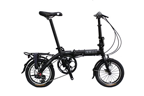 SoloRock Pace 3.0 14 3 Speed Aluminum Folding Bike – Super Compact