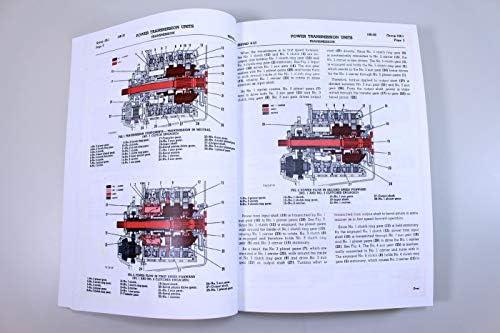Amazon.com: Caterpillar D6 D6C Crawler Tractor Dozer Service ...