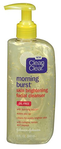 Clean & Clear Cleanser Morning Burst Bright 8 Ounce Oil-Free