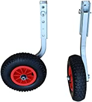 """Brocraft Boat Launching Wheels/Boat Launching Dolly 12"""" Wheels for Inflatable Boats & Alumi"""