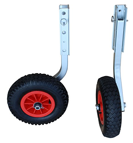 Brocraft Boat Launching Wheels / Boat Launching Dolly 12'' Wheels For Inflatable Boats & Aluminum Boats by Brocraft