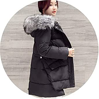 Amazon.com: Down Jackets and Coats Rabbit Fur Hat Female