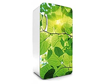 Kühlschrank Dekorfolie : Kühlschrank aufkleber blÄtter cm stickers fototapete