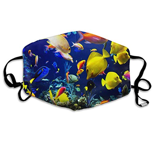 ZHOUSUN Dustproof Washable Reusable Underwater World Fish Mouth Cover Mask Respirator Germ Protective Safety Warm Windproof Mask