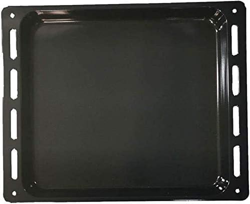 AKP106IX MarelShop/® ESZB5863IN01 ESZB5863//WS Leccarda in alluminio teglia per forno compatibile con Whirlpool Ignis Bauknecht 445 x 375 mm per modelli: AKS133//NB AKS201IX0