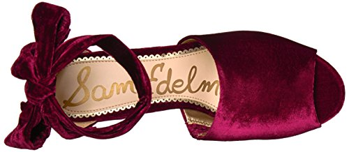 Sam Edelman Donna Odele Con Tacco Sandalo In Velluto Color Mirtillo