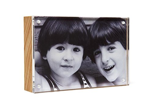 Natural Wood Back Magnet Frame by Canetti-5x7 inch