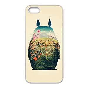 iPhone 5, 5S Cover Cell phone Case My Neighbour Totoro Kehtk Plastic Durable Cases