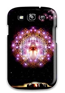 For Galaxy S3 Premium Tpu Case Cover Occult Dark Abstract Dark Protective Case